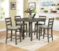 5 piece wood dining set 5 piece counter height dining set dorel living 5 piece rustic