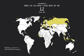 Drinking Around Flowingdata World The Legal Age
