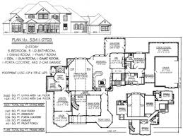 ... Perfect Five Bedroom Ranch House Plans Full Size