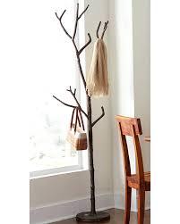 tree branch coat rack bronze racks .