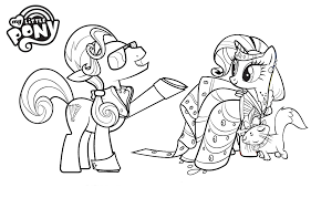 My Little Pony Spike Coloring Pages Getcoloringpagescom