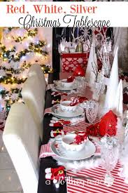 red and silver table decorations. Reindeer Decor Is Popular For Christmas Decor. Here\u0027s A Idea- Red, Red And Silver Table Decorations