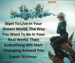 Dream World Quotes Best Of StartToLiveInYourDreamWorldThe