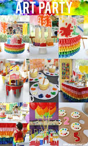 best 10 painting parties ideas on 7th birthday party