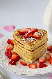 Image result for heart shaped pancakes