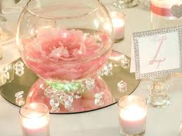 glass bowl centerpieces for weddings spectacular inspiration large round fish elegant wedding with table decora
