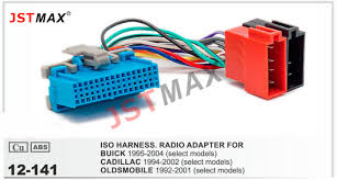 online buy whole buick wiring harness from buick wiring jstmax 12 141 iso f harness radio adapter for buick 1995 2004