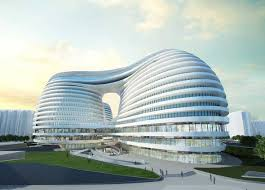 Wonderful Architectural Building Designs Galaxy Soho Futuristic Architecture Design By Zaha Hadid In Beautiful Ideas