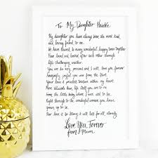 fullsize of sterling daughter poem gift daughter poem gift by de fraine design london secret santa