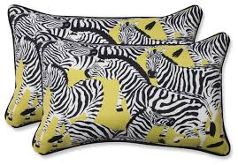 Herd To her Wasabi Oversized Rectangular Throw Pillow Set of 2