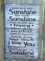 you are my sunshine wooden wall art best of you are my sunshine wooden wall art