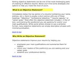My Objective In Resume What Shouldclude Objective Resume Say Can Put My On Is Do I For 82