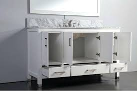 contemporary 60 inch single sink vanity fresh co