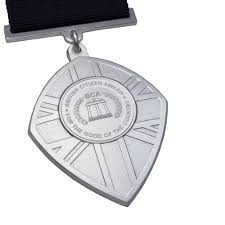 British Citizen Award Medal Makers Commemorative And