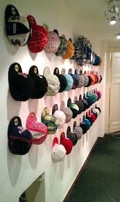 baseball hat rack for wall hat hanging ideas great best coat hooks wall mounted ideas on