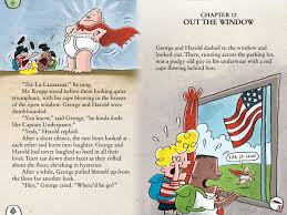 harold and george hypnotizes their prinl into believing that he is a skimpy clad superhero the adventures of captain underpants