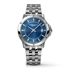 raymond weil men s watches shop the best deals for 2017 raymond weil men s tango blue dial stainless steel watch
