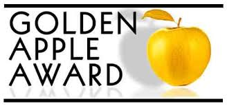 Image result for golden apple award image