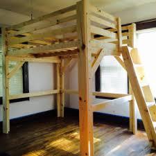 Master Industrial Loft Loft Bed Frame - Elites Home Decor