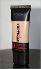 review l oreal infallible pro matte foundation