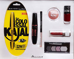 makeup kit gift set india maybelline inslam box wedding edition review s in india