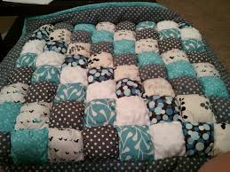 Get Your Very Own Puff Quilt! | Growing on Goofy & If you choose to order a puff quilt, I will assist you in selecting your  very own fabric, color scheme or pattern. I can embroider your baby's name,  ... Adamdwight.com