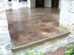 acid stain concrete patio porch staining take a look at this patio concrete stain acid staining