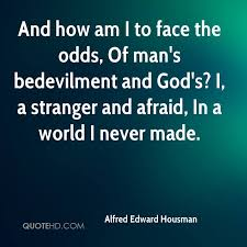 The Stranger Quotes Fascinating Alfred Edward Housman Quotes QuoteHD