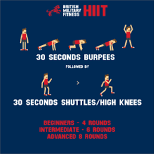 hiit workout bmf x ert military fitness exercise 1