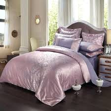 spring new luxury bed linen satin jacquard bedding set include duvet cover european covers co
