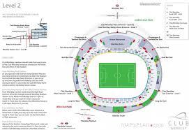 Mapaplan Club Wembley Seating Plan Seating Plan