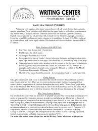 Basic Mla Format 8th Ed Citation Plagiarism