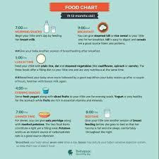 Plz Send 8months Baby Food Chart