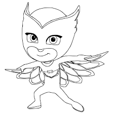 Printable Pj Masks Coloring Pages At Getdrawingscom Free For