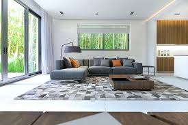 how to place area rugs large brown plaid area rug put under square wooden coffee table