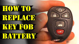How to Replace Remote Key Fob Battery - Chevy Malibu & GM - YouTube