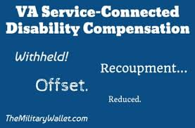 Withhold Va Disability Compensation Recoupment Offset