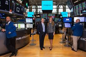 an jeff sprecher intercontinental exchange chairman and ceo with his wife kelly loeffler an