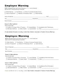 Best Formal Write Up Template Final Written Warning Awesome