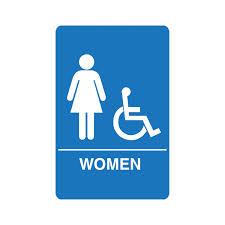 preschool bathroom signs. IS1004. Women\u0027s Accessible Restroom Sign Preschool Bathroom Signs