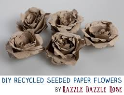 Recycled Flower Paper Diy Project How To Make Handmade Recycled Seeded Paper