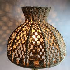 Woven Ceiling Light Shade Pin On Vintage Home