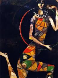 1910s l acróbata marc chagall