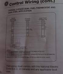 need help wiring prestige iaq for dual fuel doityourself com this is what the rheem instrutions show about wiring the hp for dual fuel