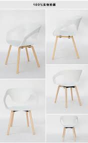 Us 1806 30 Offmode Esszimmer Stuhl Mit Armlehnen Büro Bar Stühle Wohnzimmer Furnitrue Holz Möbel Holz Plasti Kaffee Stuhl In Esszimmerstühle
