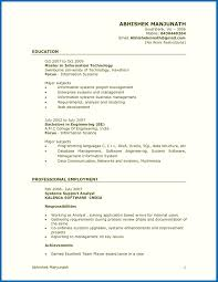 Quick Resume Template Resume Template Quick And Easy Make A Inside