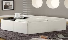 36 inch coffee table with storage photos and pillow