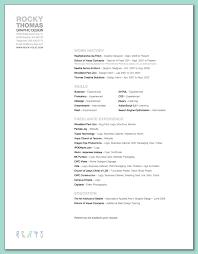 Graphic Design Resume Samples Resume Samples
