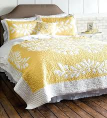 yellow and white duvet cover uk kayla hand guided yellow and white quilt dealers site love