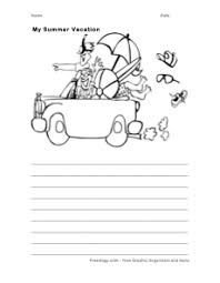 Summer Journal And Coloring Page Freeology